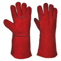 H.D Welders Gloves Red,One Piece