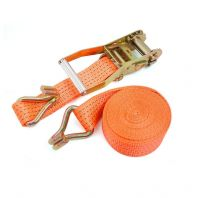 "Cargo lashing belt with ratchet,2""x10mtr"