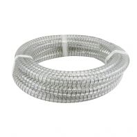 Pvc Steel Flexible Suction Hose, Clear